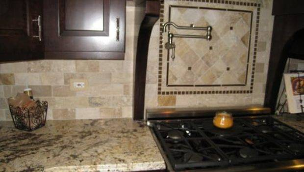 Natural Stone Backsplashes
