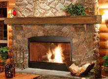 Natural Stone Fireplace Mantel Shelves