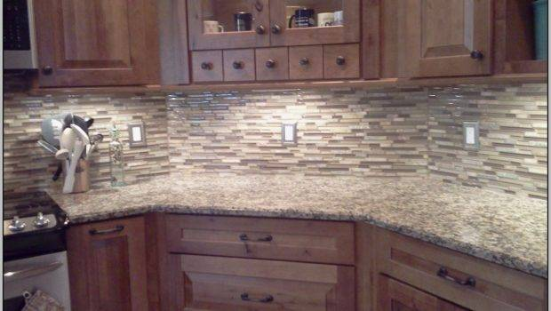 Natural Stone Tile Backsplash Kitchen Tiles Home