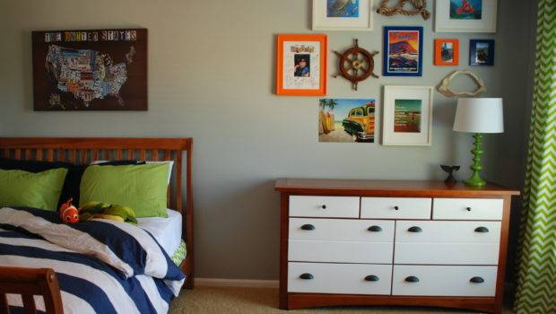 Nautical Modern Boys Room