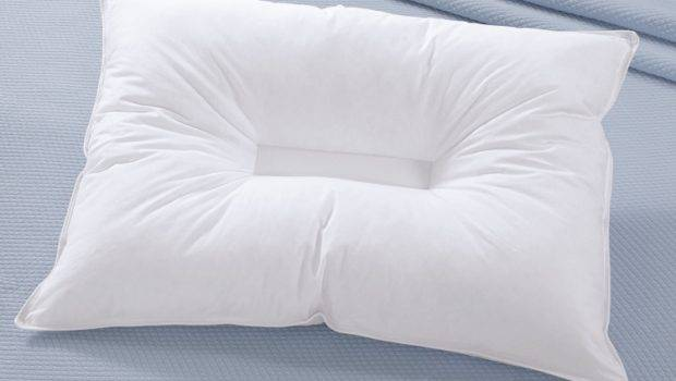 Neck Support Cradling Synthetic Fill Pillow