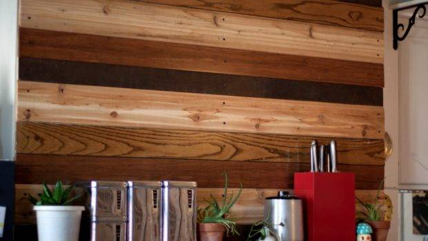 Nest Reclaimed Wood Wall
