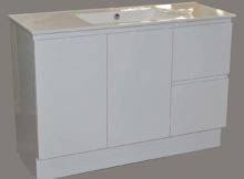 Nevada Floor Standing Vanity White Bathroom