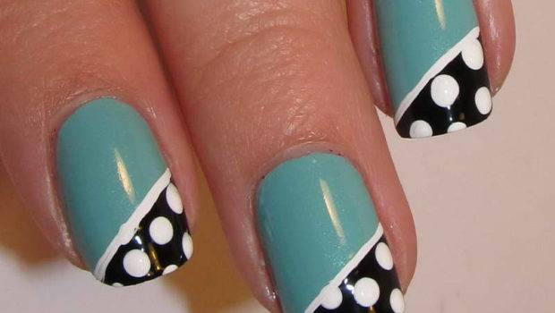 New Design Easy Cool Nail Designs Color Blue