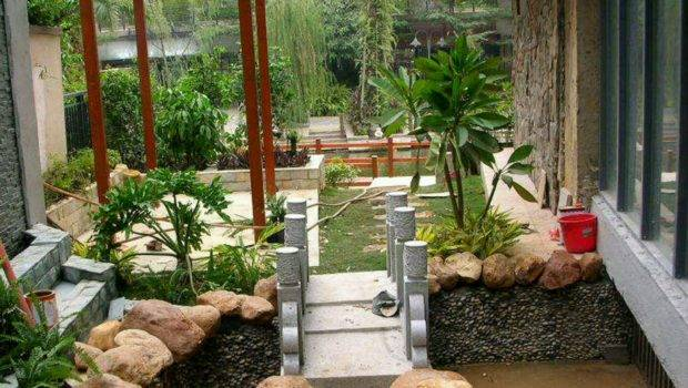 New Home Designs Latest Beautiful Gardens