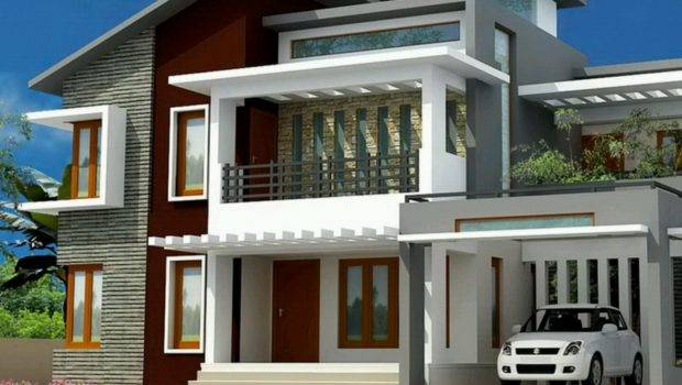New Home Designs Latest Modern Bungalows Exterior Views