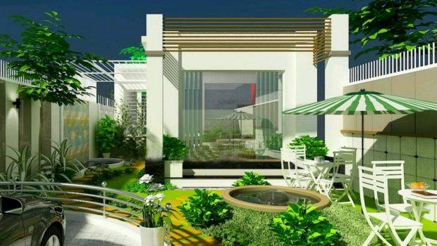 New Home Designs Latest Modern Homes Beautiful Garden