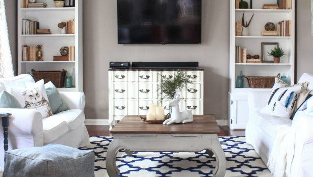 New Living Room Rug Shades Blue Interiors