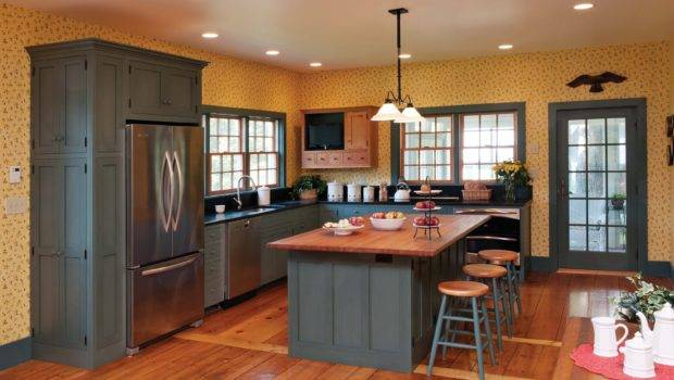 New Looks Repainting Painted Kitchen Cabinets Advice Your Home