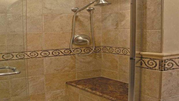 New Shower Tile Design Idea Frameless Door Small Bathroom
