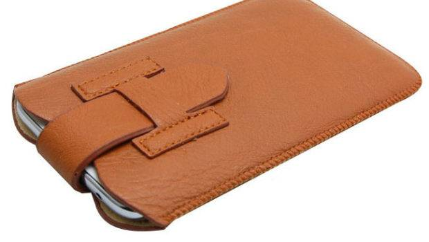 New Style Pull Rope Leather Pouch Phone Bags Cases