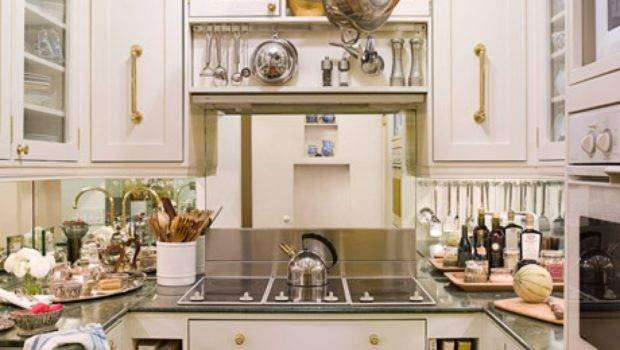New York Small Efficient Kitchens Designs House Beautiful