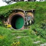 New Zealand Hobbit House Landscape