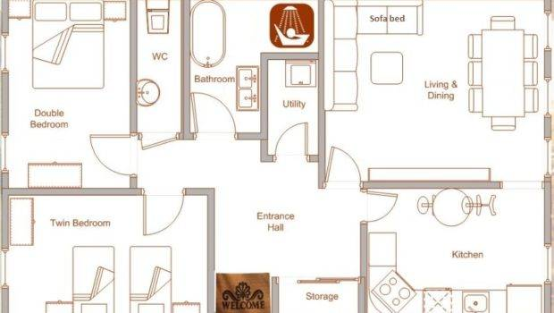 Nice Holiday Rental Apartment Floor Plan