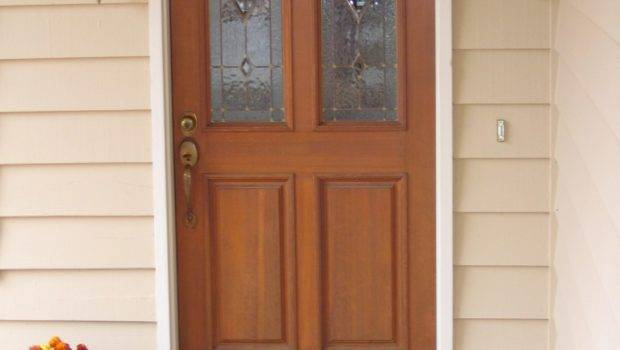 Nice Wooden Exterior Door Front Design Newsonair