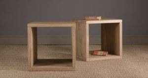 Oak Cube Indigo Furniture