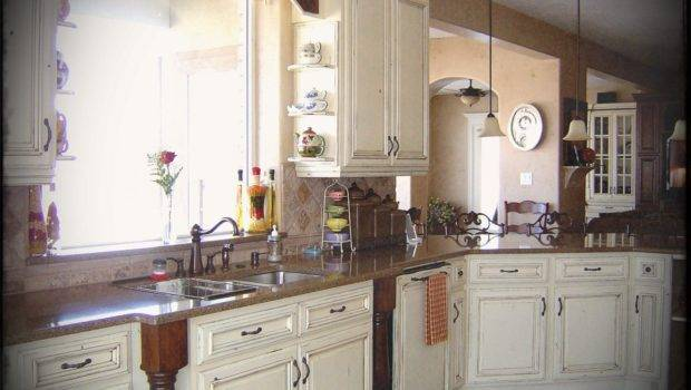 Off White Country Kitchen Ideas Antique Style French