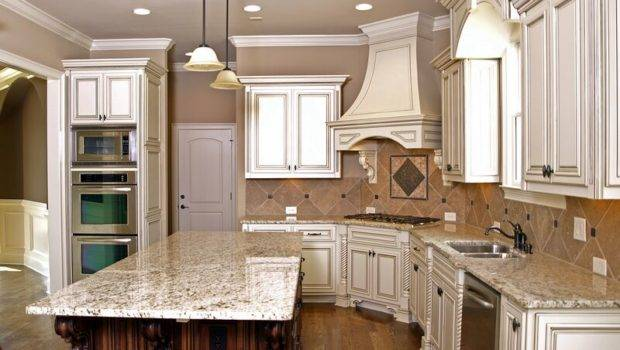 Off White Kitchen Cabinets Color Ideas Kitchenidease