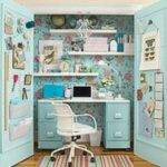 Office Closet Home Pinterest