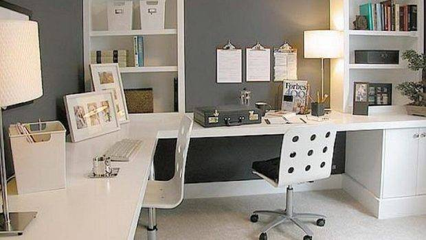 Office Ideas Work Small Space Decorating