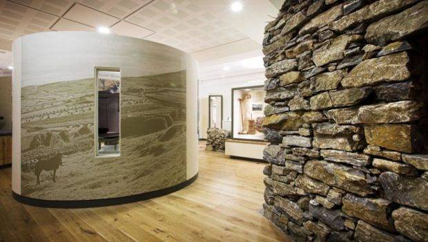 Office Interior Stone Wall Walls