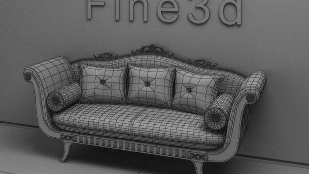 Old Fashioned Couch Sofa
