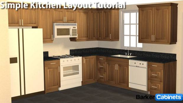 Old Tutorials Archive Kitchen Layout Simple Shaped