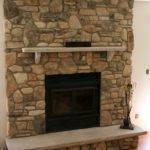 Old World Fireplace Natural Veneer Stone