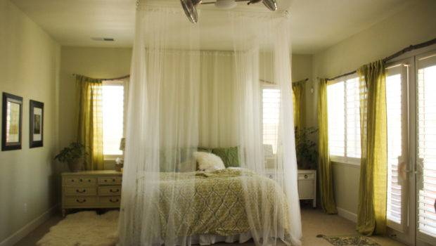 Olive Love Ceiling Mounted Bed Canopy