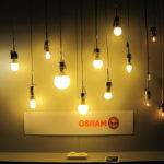One Osram Displays Lamps Left Middle Cfls