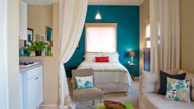 One Room Apartment Decorating Best Tips Small