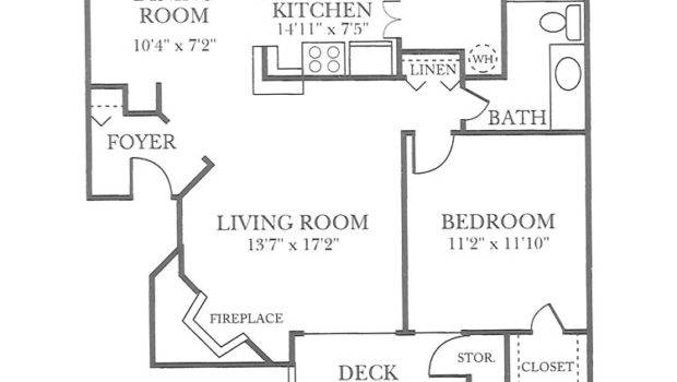 One Two Three Bedroom Apartments Raleigh Floor Plans