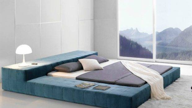 Opaq Contemporary Bed Frame Brings Ultra Modern Refreshing