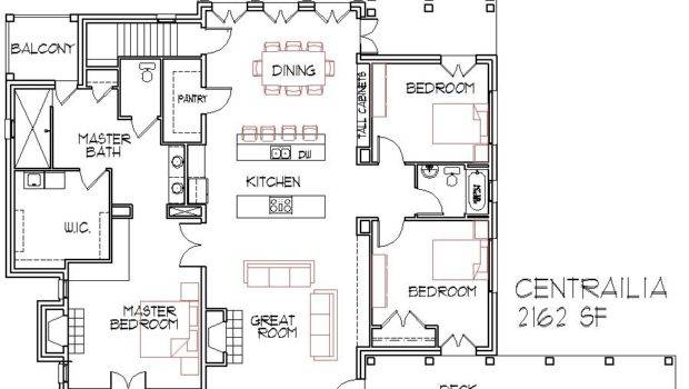 Open Floorplans Large House Find Plans