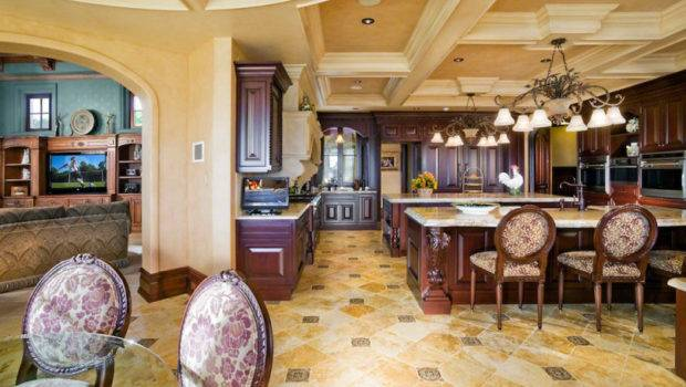 Open Kitchen Floor Plans Bring Closer Luxurious