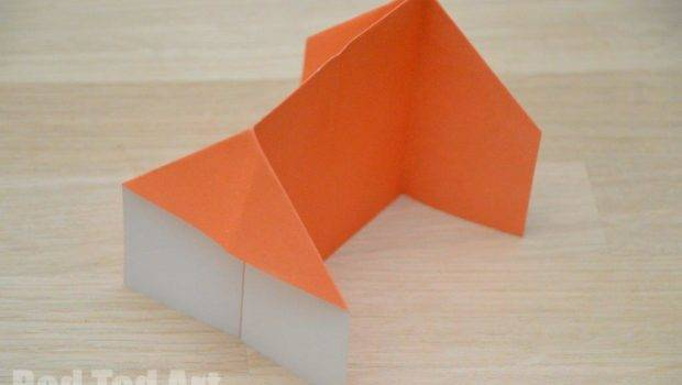 Origami House Red Ted Art Blog