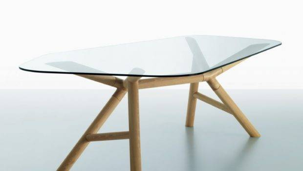 Otto Wood Glass Dining Table Klarity Furniture