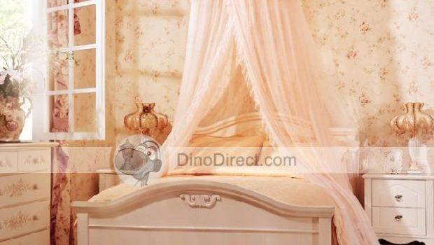 Ounuo Best Fashion Princess Round Ruffle Hanging Bed