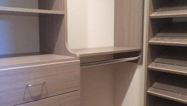 Our Small Walk Closet Design Simplified Bee