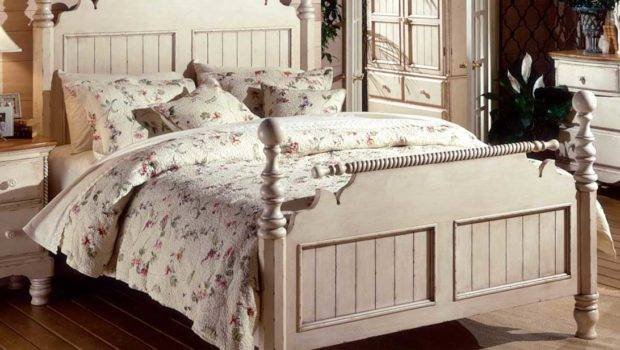 Out Most Recent White Vintage Style Bedroom Furniture