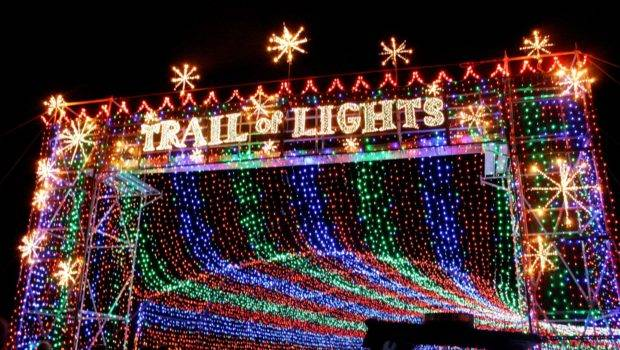 Out Trail Lights Pretty Cool Love Christmas