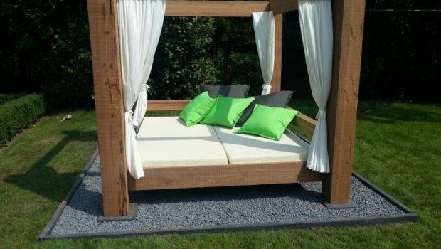 Outdoor Canopy Bed Pinterest
