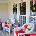 Outdoor Decorations Done Plain Green Wreath Made Christmas
