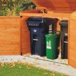 Outdoor Storage Bins Large Boxes Can Positioned Anywhere