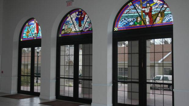 Outer Transom Window Designs Lake Magdalene United Methodist