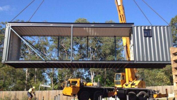 Oxley Home Built Out Shipping Containers Abc News Australian