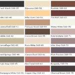 Paint Color Chart Behr Interior Painting