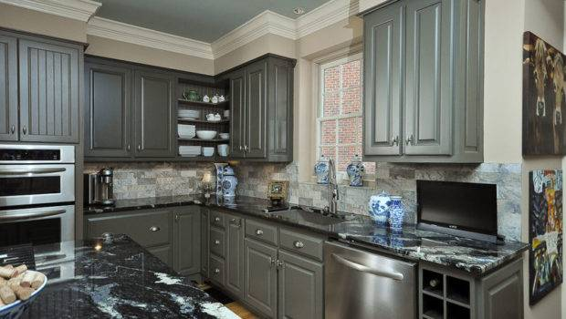 Paint Colors Kitchens White Cabinets Part Grey Gray