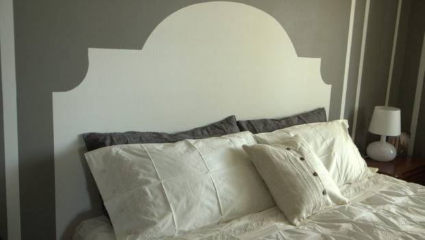 Paint Headboard Wall Painted