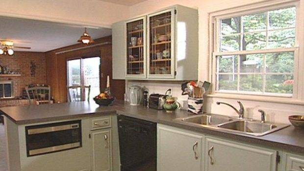 Paint Old Kitchen Cabinets Tos Diy
